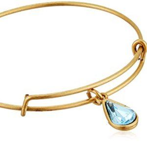 Alex and Ani Living Water Gold Bracelet